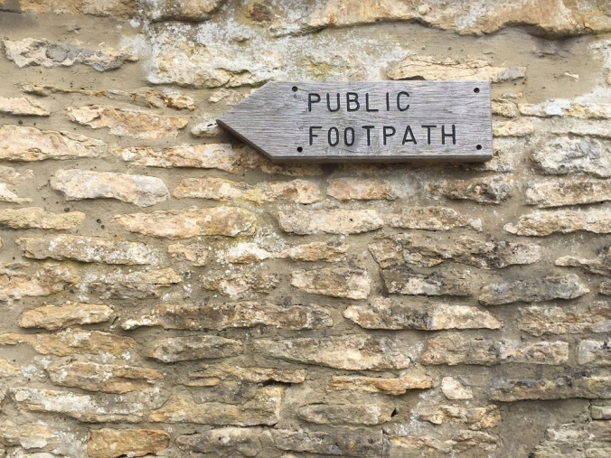 Cotswold+stone+signpost