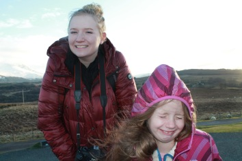 Izzy's Face at Commando Memorial